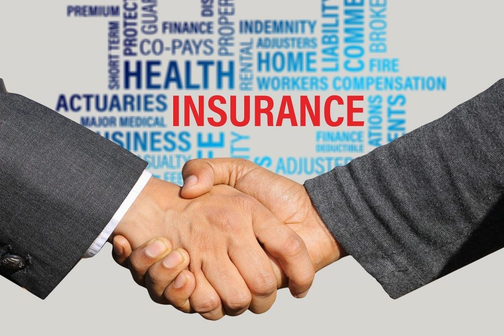 insurance, contract, shaking hands